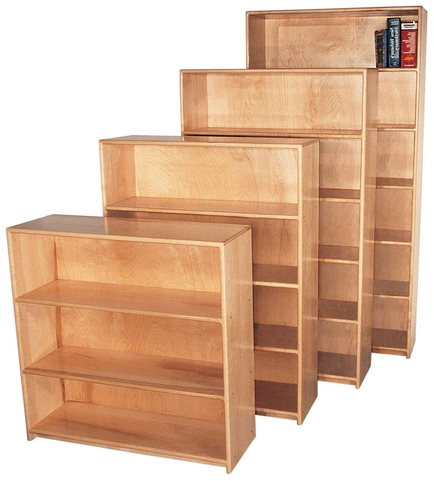 Most Popular Maple Bookcases For Ideas For Maple Bookcase Design # (View 10 of 15)