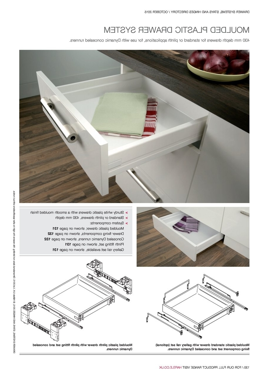 Most Popular Moulded Plastic Drawer Intended For Plinth Drawers (View 4 of 15)