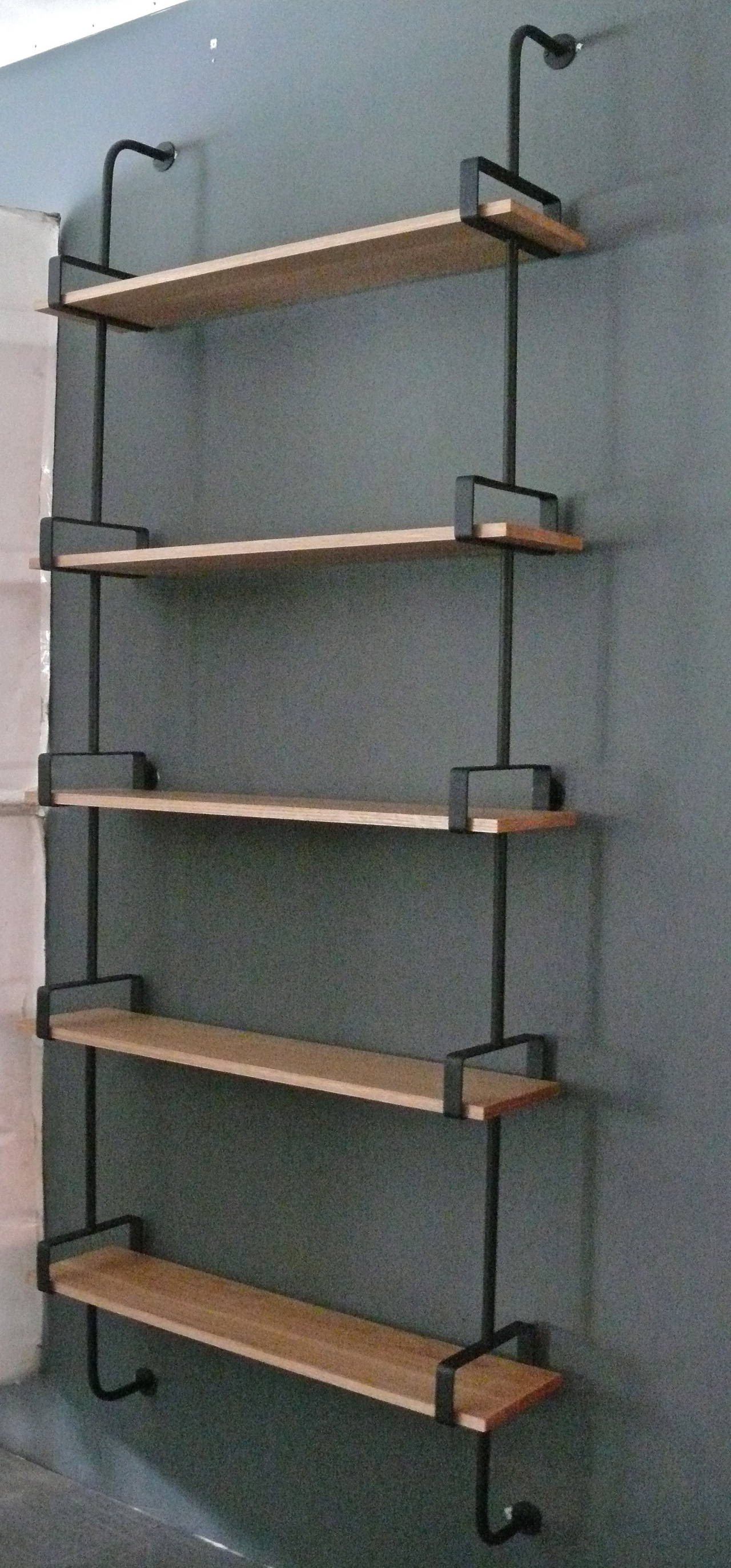 Most Popular Oak Wall Shelves With Regard To French Iron And Oak Wall Shelves For Sale At 1Stdibs (View 4 of 15)