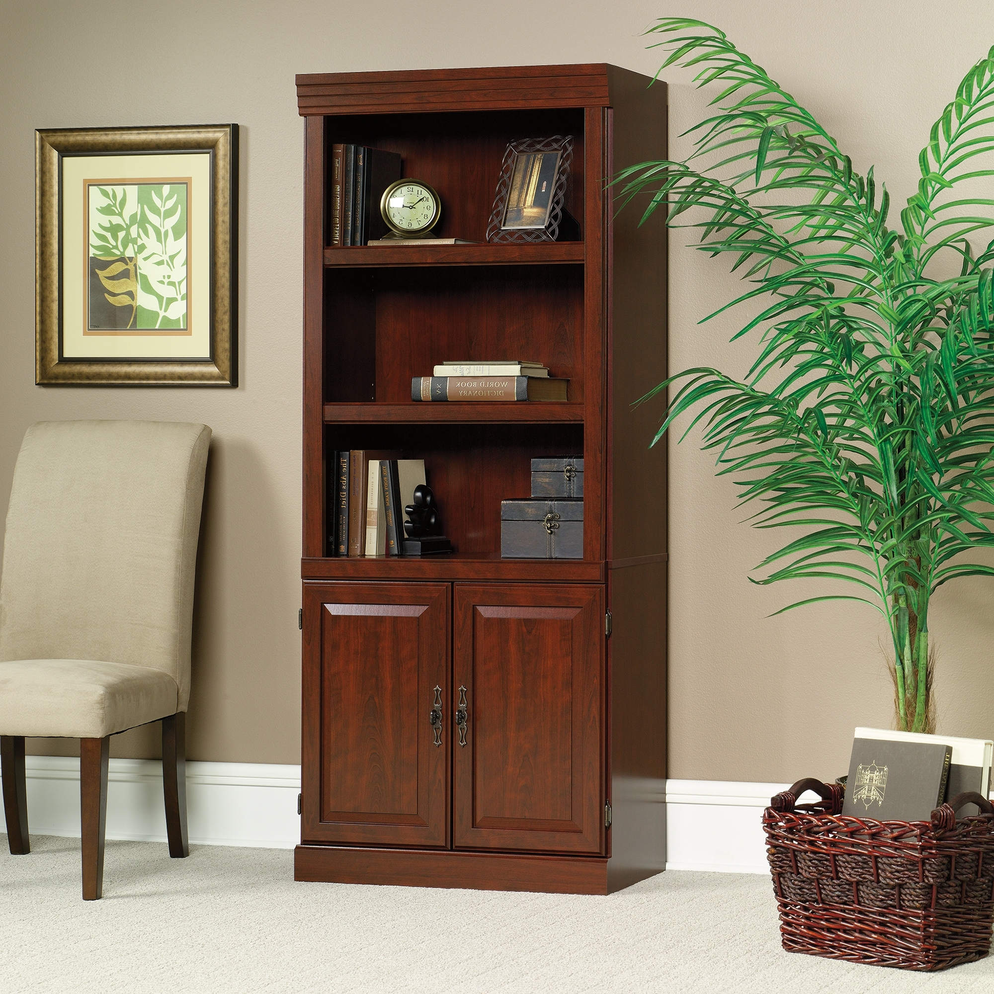 Most Popular Sauder Bookcases Within Heritage Hill (View 5 of 15)