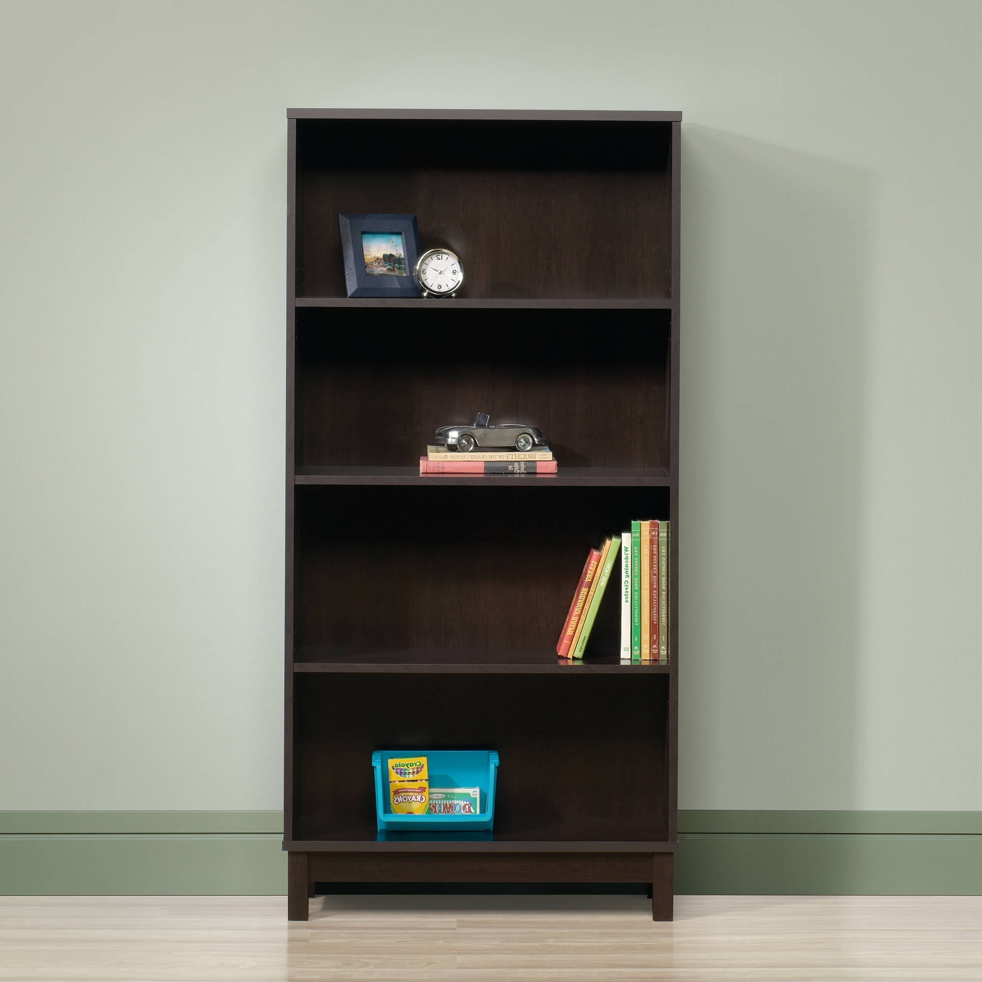Most Popular Sauder Parklane Bookcase, Cinnamon Cherry – Walmart With Small Walmart Bookcases (View 5 of 15)