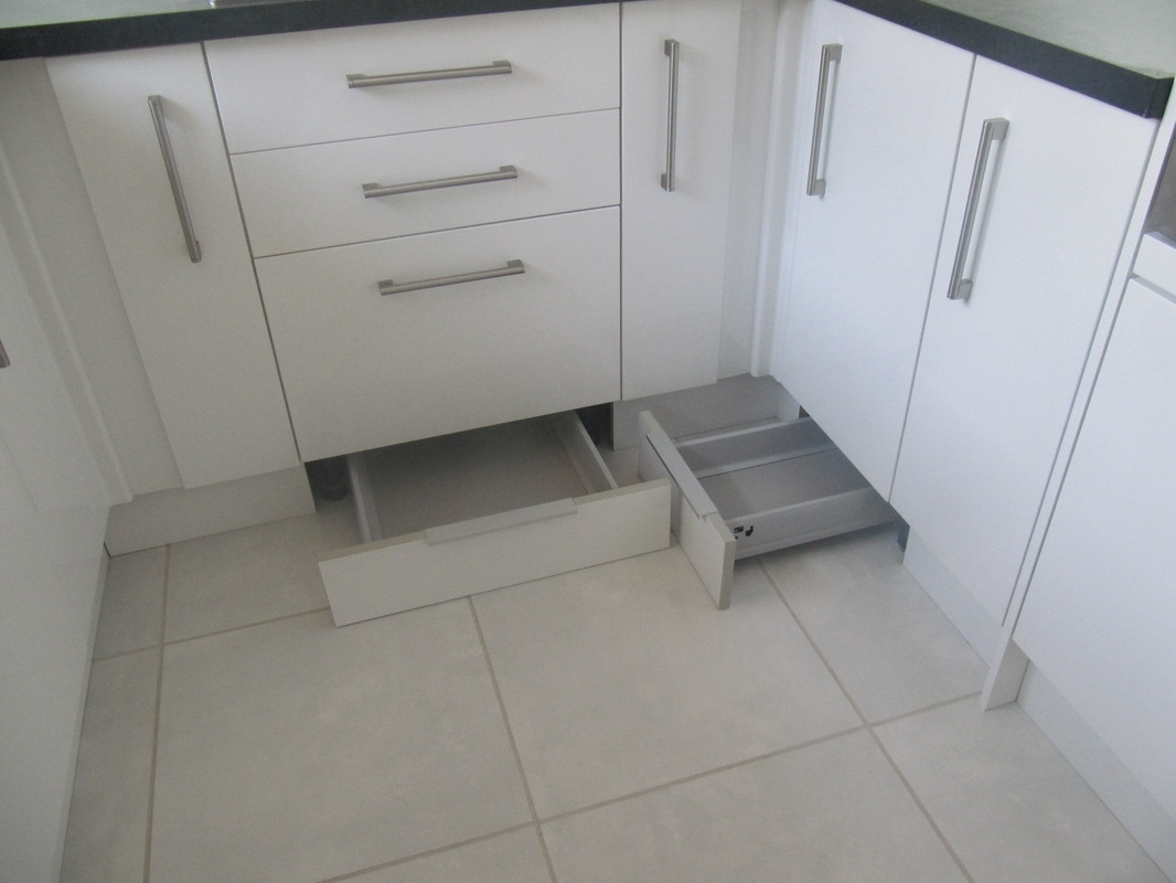 Most Popular Toekick/plinth Drawers Make Use Of Unused Space Under The Cabinets For Plinth Drawer (View 2 of 15)