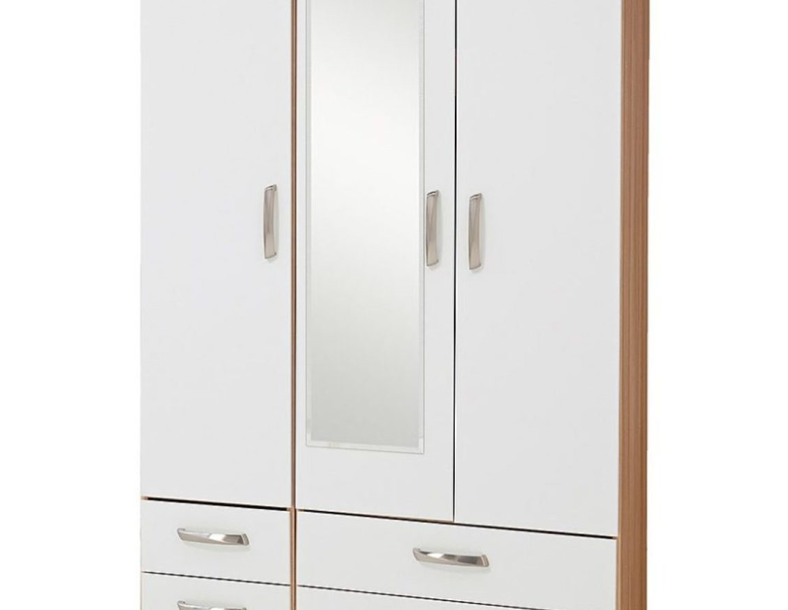 Most Popular Wardrobe : Open Wardrobe Beautiful Wardrobe With 2 Hanging Rails Inside Tall Double Rail Wardrobes (View 5 of 15)