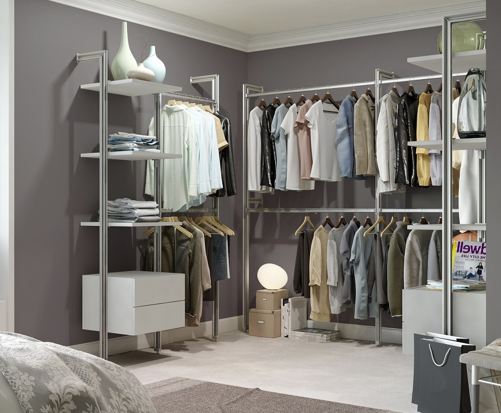 Most Popular Wardrobes For Baby Clothes Within Closet Storage : Closet Shelves Baby Organizers For Nursery (View 9 of 15)