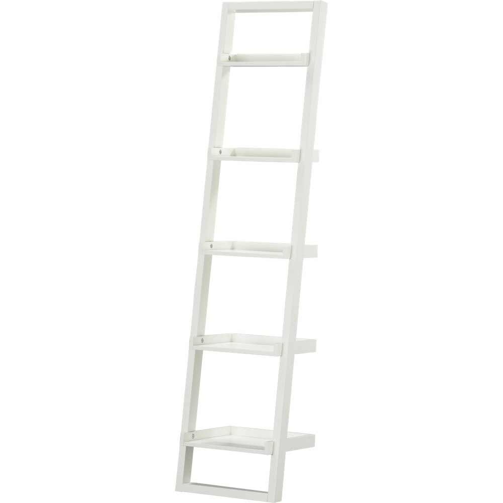 Most Popular White Leaning Bookcases Intended For 52 Leaning Wall Shelves Plans, Ana White Leaning Ladder Wall (View 4 of 15)