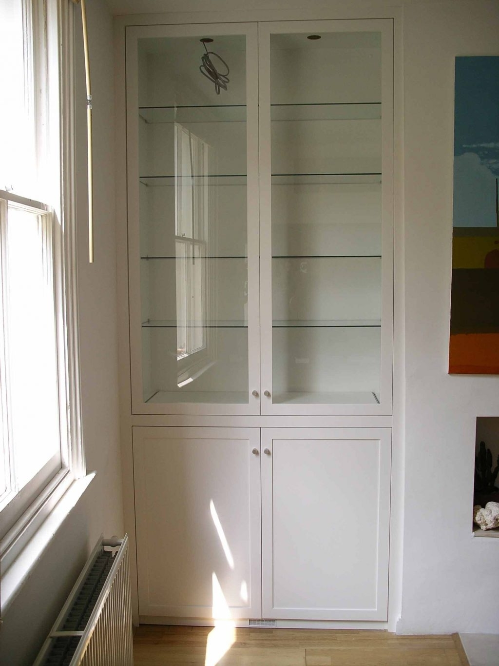 Most Recent Baby Nursery ~ Fetching Ideas About Grey Fitted Wardrobes White Within Fitted Cabinets Living Room (View 14 of 15)