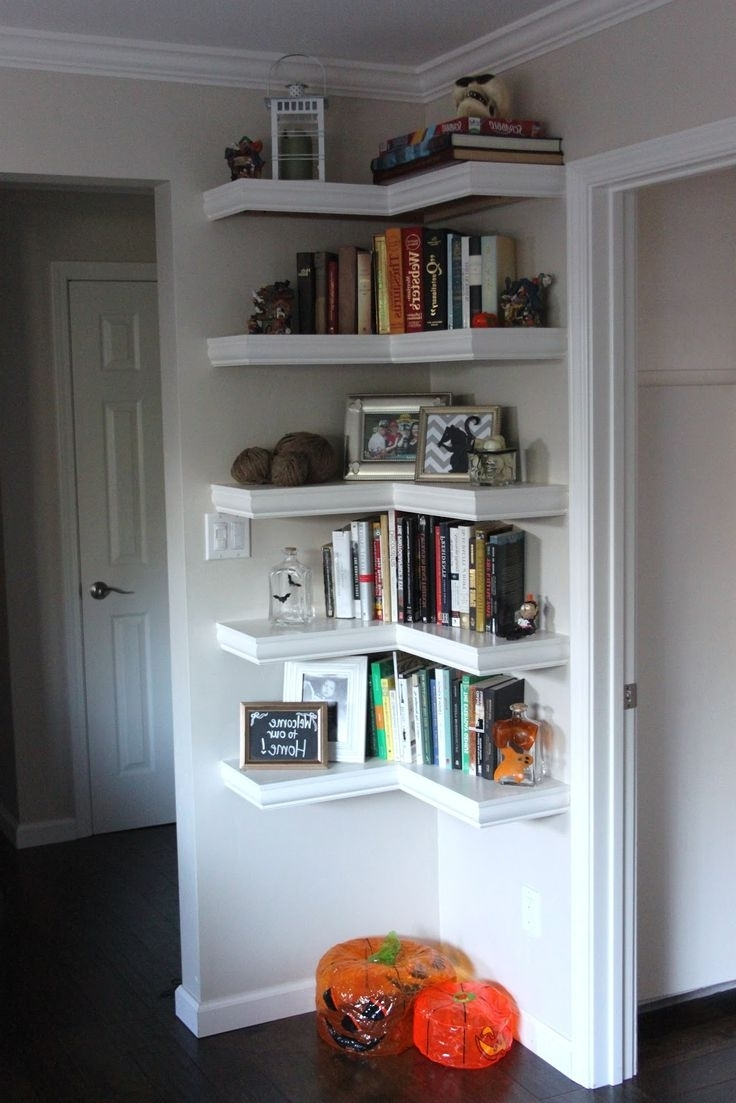 Most Recent Best 25+ Corner Wall Shelves Ideas On Pinterest (View 12 of 15)