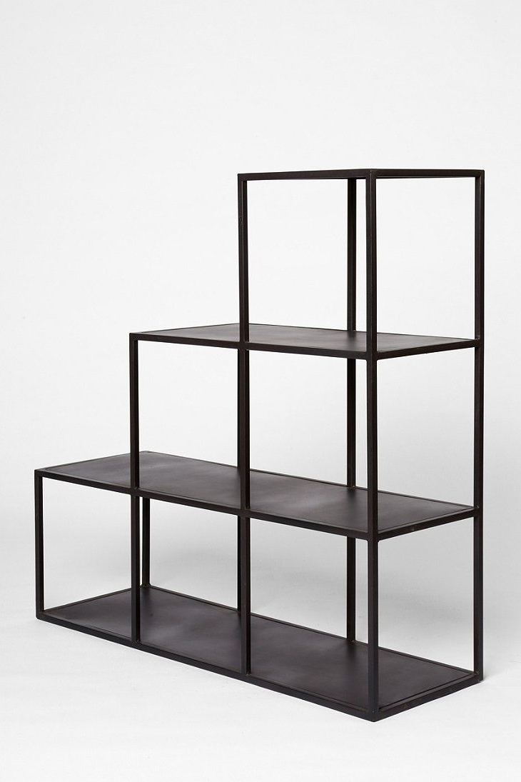 Most Recent Bookcases Ideas: One Of The Best Wonderful Metal Bookcases Throughout Steel Bookcases (View 7 of 15)