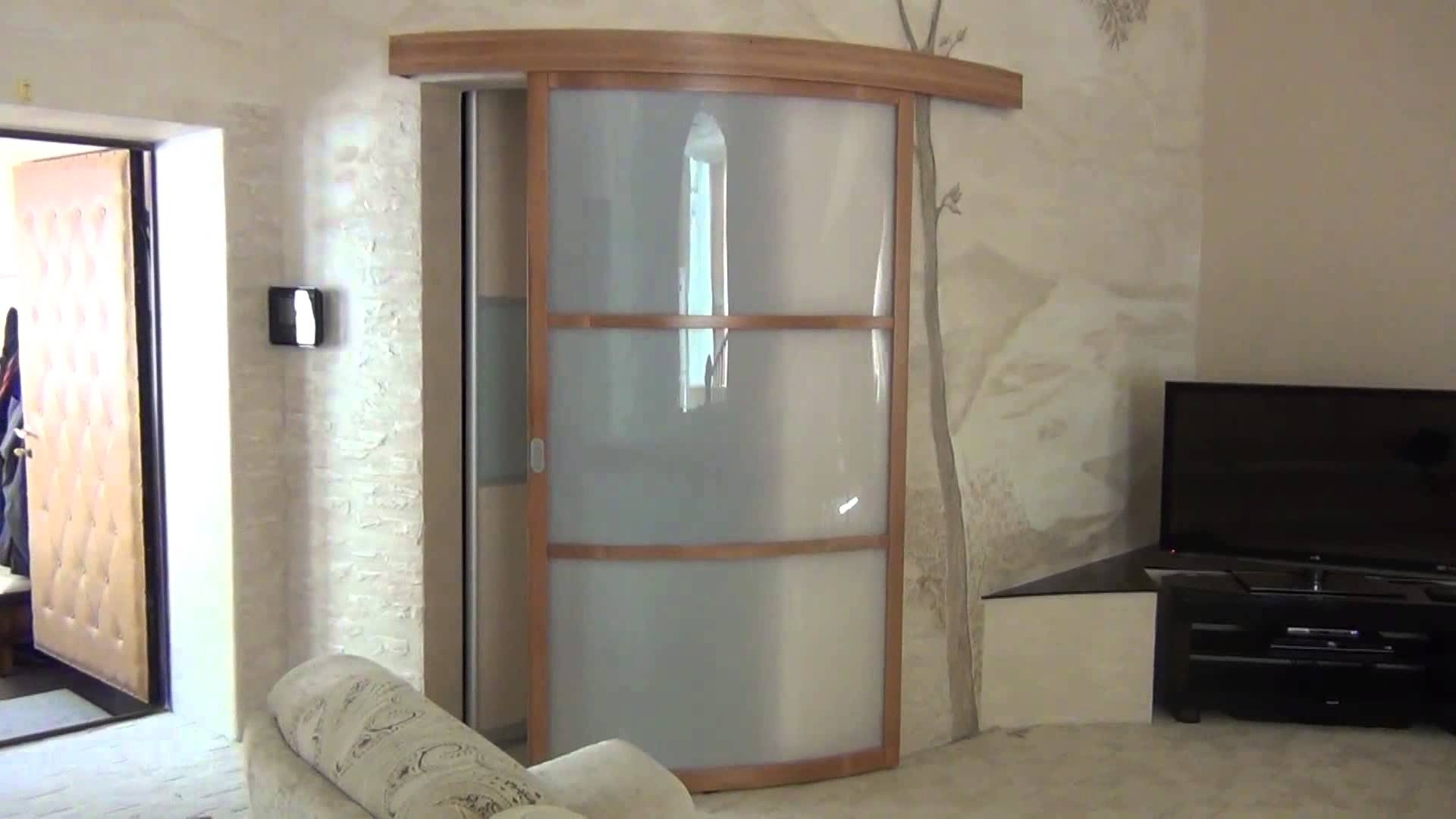 Most Recent Curved Sliding Door – Youtube Inside Curved Wardrobe Doors (View 12 of 15)
