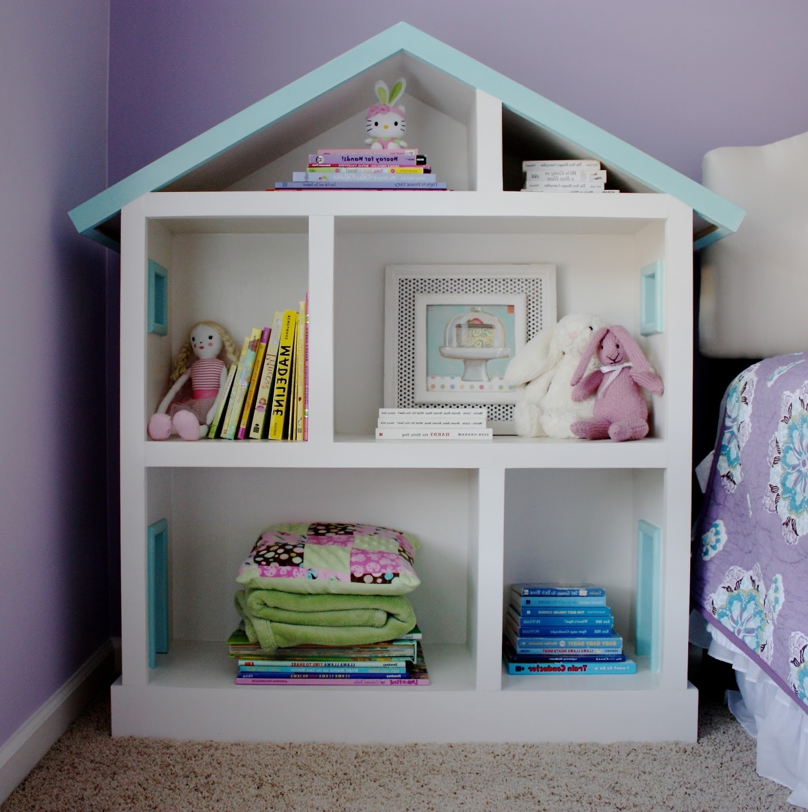 Featured Photo of Dollhouse Bookcases
