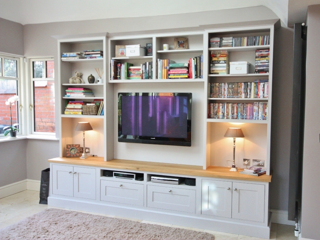 Most Recent Enigma Design Bespoke Cabinetry – Custom Made Bespoke Cabinetry Within Tv Unit With Bookcases (View 13 of 15)