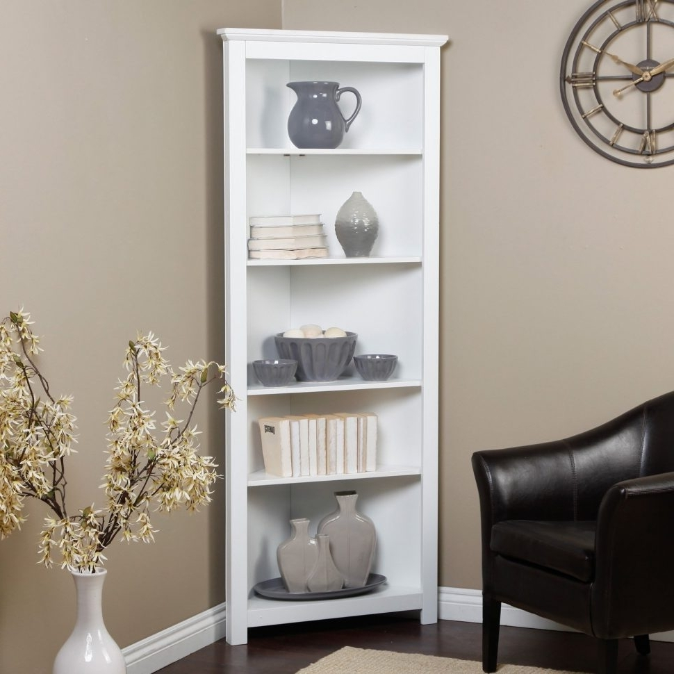 Most Recent Furniture : Amazing White Corner Bookcase Best Of White Corner With White Corner Bookcases (View 6 of 15)