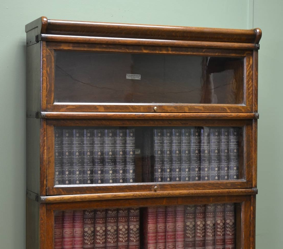 Most Recent Globe Wernicke Bookcases Regarding Globe Wernicke Bookcase – Antiques World (View 12 of 15)