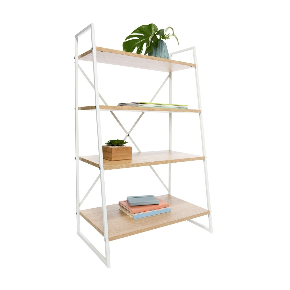 Most Recent Kmart Bookcases Throughout Ladder Bookshelf Scandi (View 3 of 15)