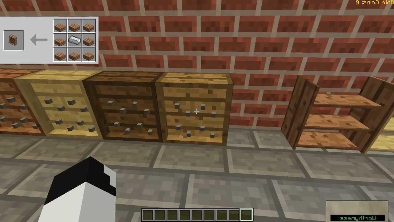 "Most Recent Minecraft Mod Spotlight: Bibliocraft Mod! ""bookshelves, Tool Racks Throughout Minecraft Bookcases (View 10 of 15)"