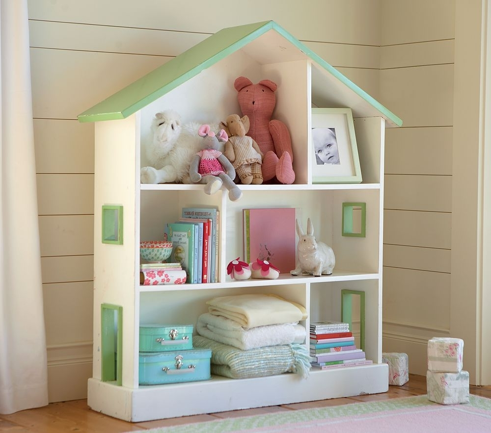 Most Recent Pottery Barn Bookcases Regarding Bookcases Pottery Barn, Pottery Barn Dollhouse Bookcase Big Lots (View 3 of 15)