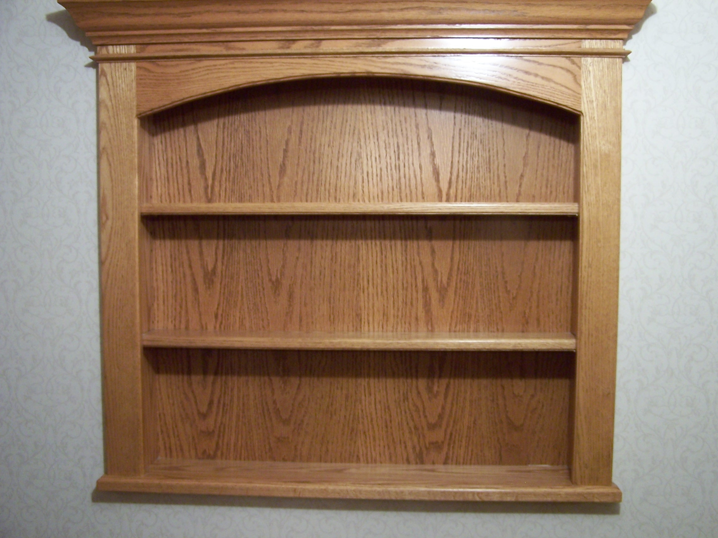 Most Recent Raver Creative Woodworking Custom Made Solid Oak Shelf Unit With Regard To Oak Wall Shelves (View 6 of 15)