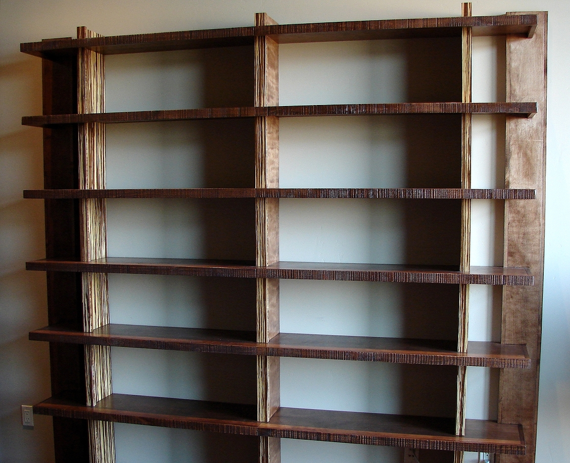 Most Recent Rolling Bookcases With Regard To 49 Bookshelves Bookcases, Hoot Judkins Furnituresan Franciscosan (View 14 of 15)