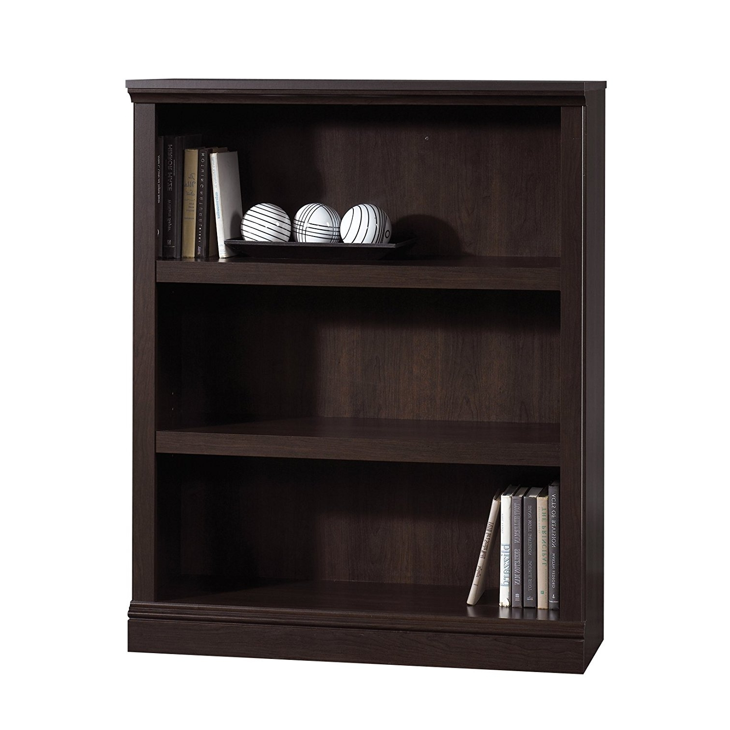 Most Recent Room Essentials 3 Shelf Bookcases With Regard To Room Essentials Shelf Bookcase Instructions3 Wood In Black Wooden (View 11 of 15)