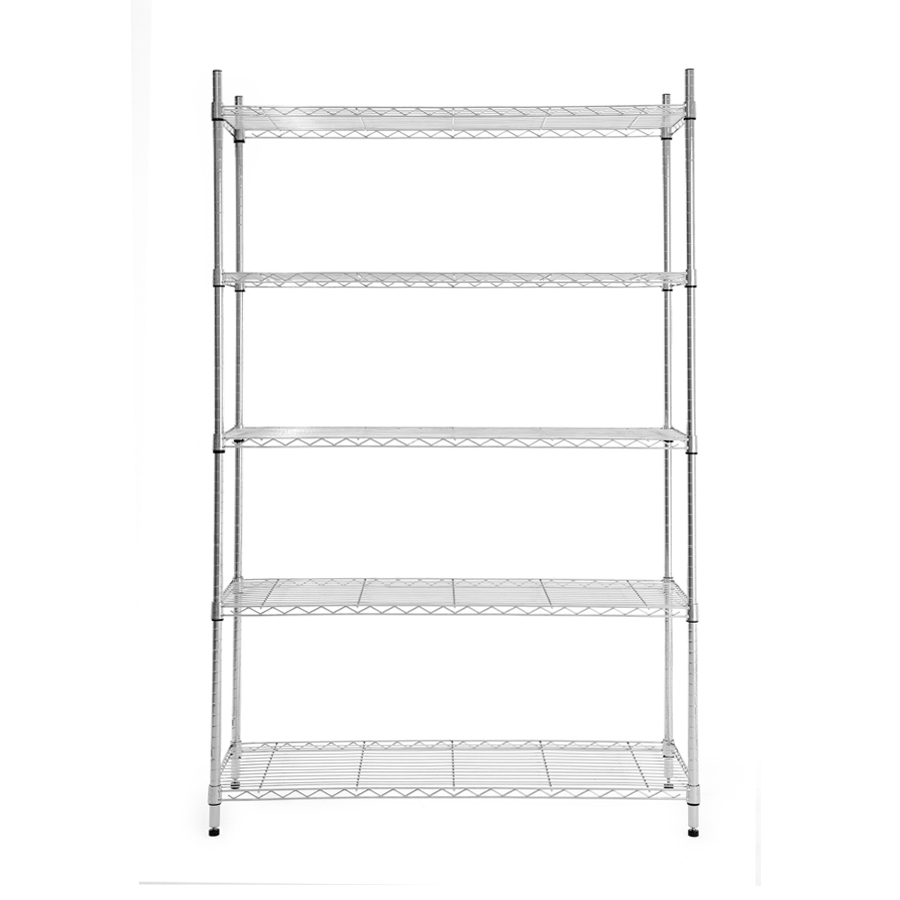 Most Recent Shop Freestanding Shelving Units At Lowes Inside Free Standing White Shelves (View 9 of 15)