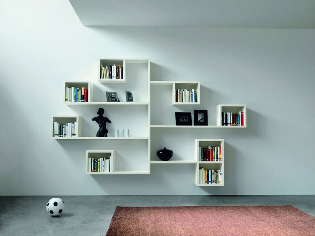 Most Recent Study Shelving Ideas Within Best Bedroom Wall Shelving Ideas Photography At Study Room Set New (View 6 of 15)