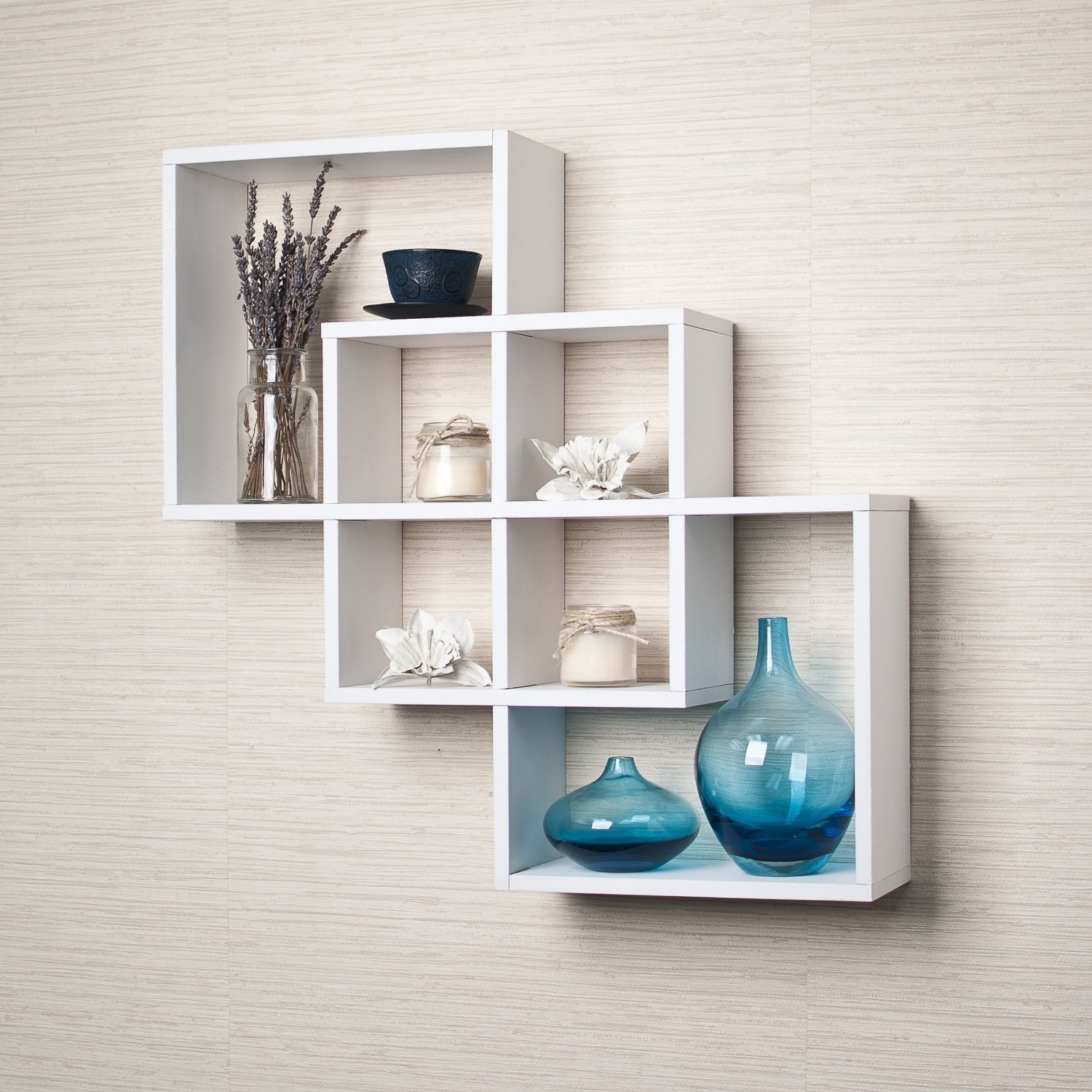 Most Recent White Wall Shelves Regarding Amazon: Danya B (View 14 of 15)
