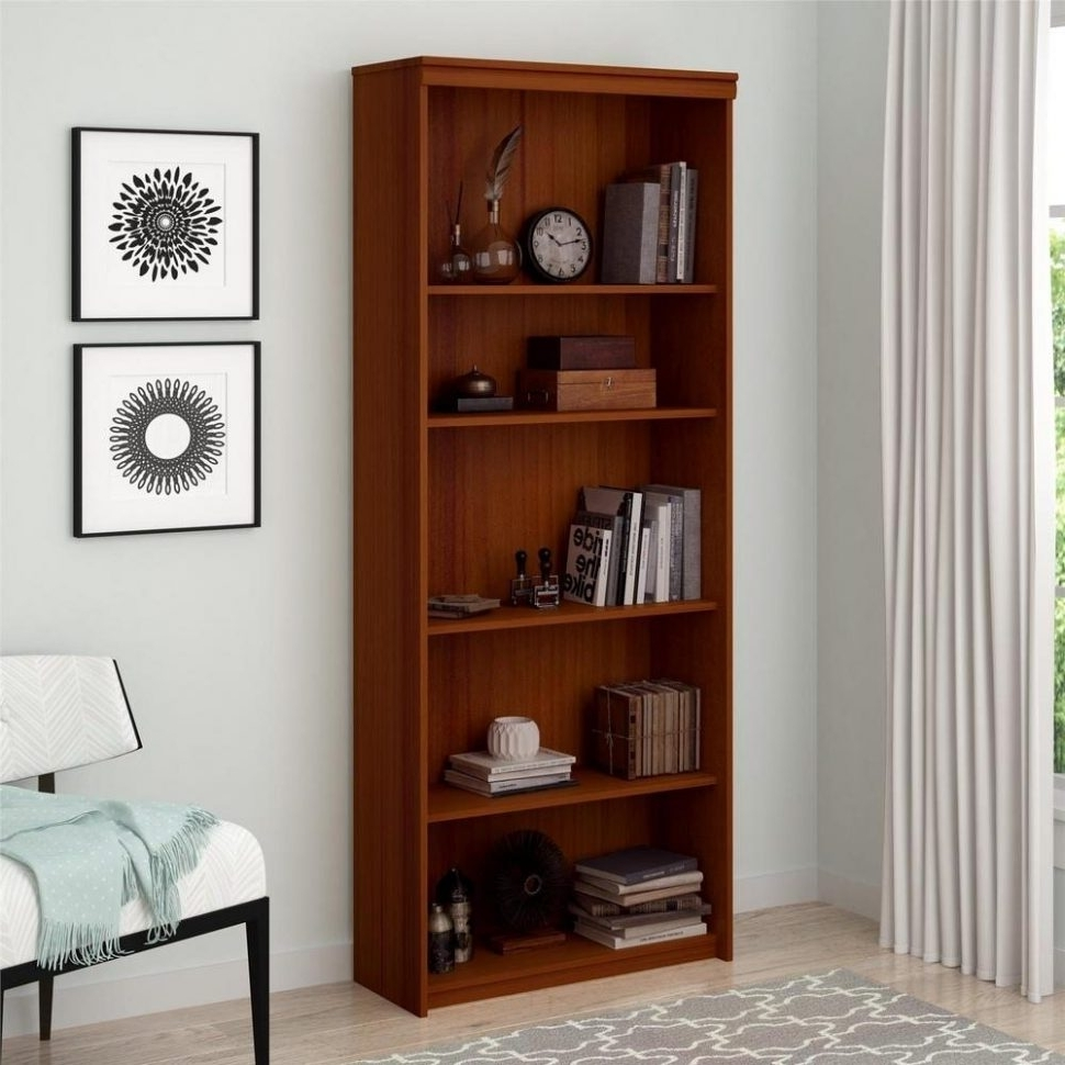 Most Recently Released Ameriwood 3 Shelf Bookcases Pertaining To Furniture Home: Furniture Home Shelf Mainstays Wide Bookcase (View 10 of 15)