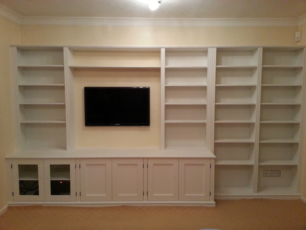 Most Recently Released Bespoke Cupboards, Bookcases & Cabinets – Nk West Carpentry Regarding Bespoke Cupboards (View 13 of 15)