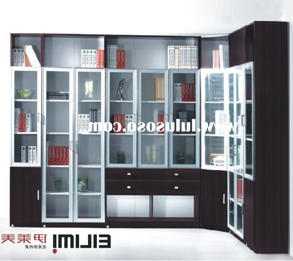 Most Recently Released Book Cabinet Design Pertaining To Book Cabinet Design Gostarry (View 2 of 15)