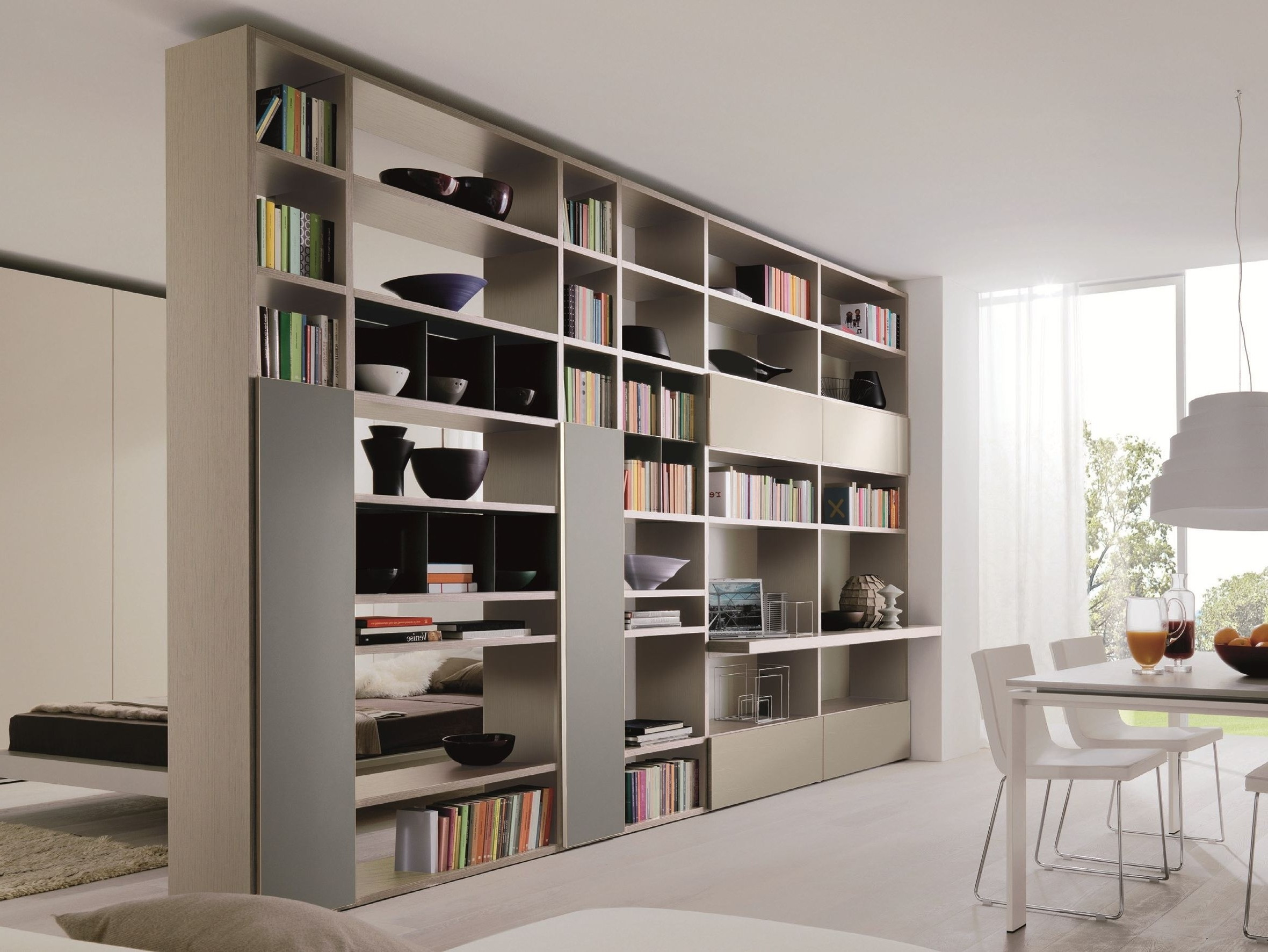 Most Recently Released Double Sided Bookcases Regarding Double Sided Bookcase – Neaucomic (View 8 of 15)