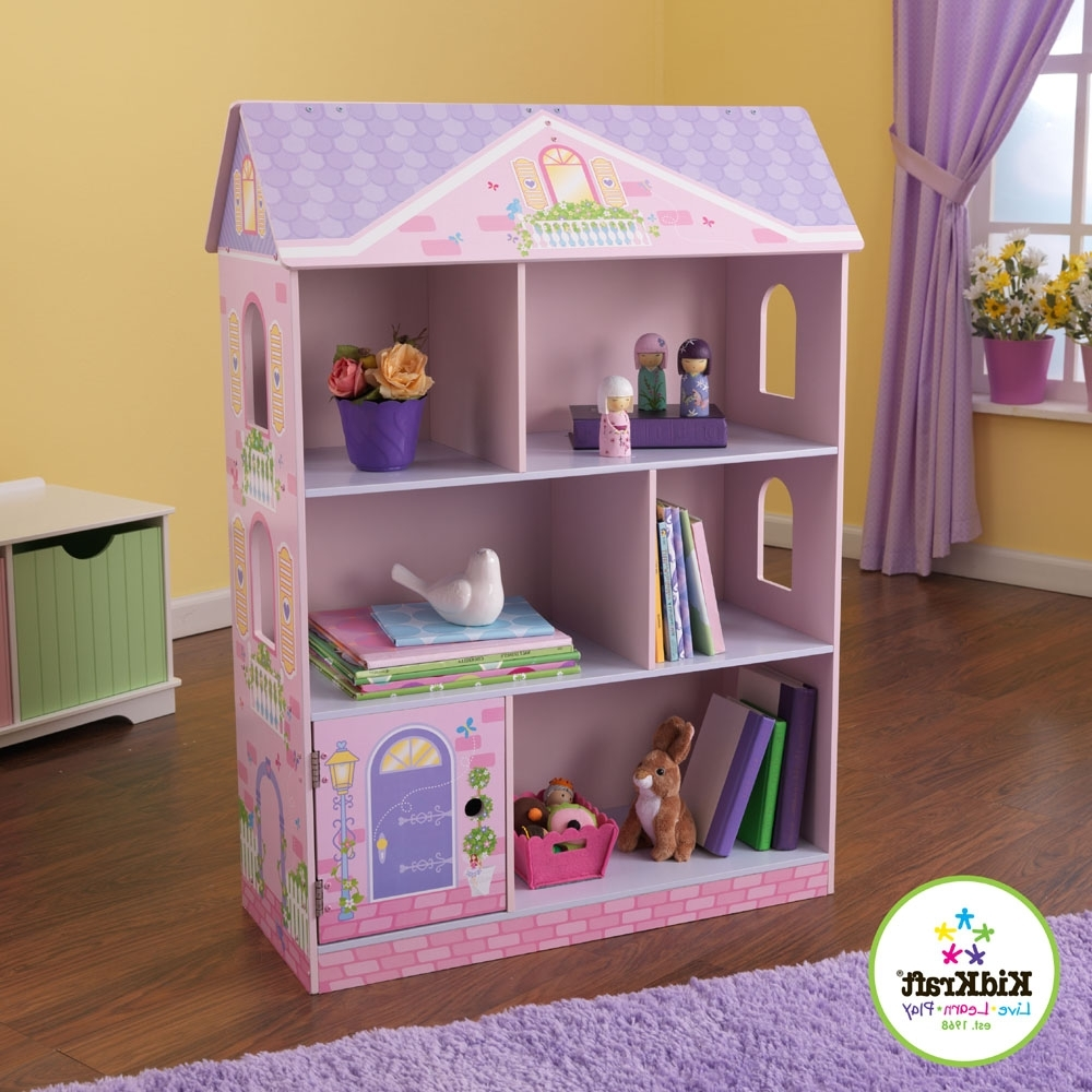 Most Recently Released Kidkraft New Dollhouse Bookcase 14602 Within Dollhouse Bookcases (View 13 of 15)