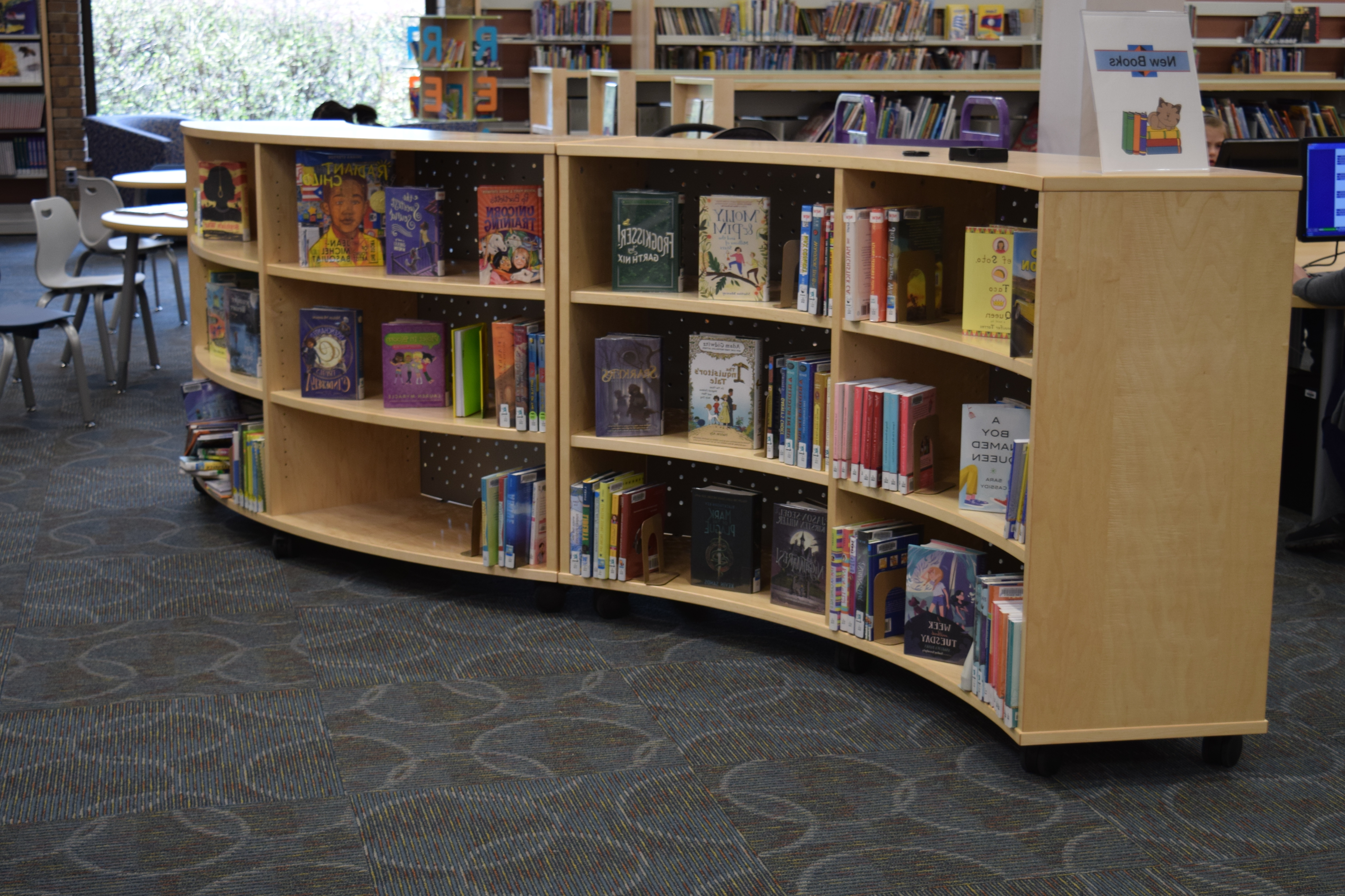 Most Recently Released Lockable Bookcases For Roll It Over! Mobile Shelving Helps Libraries To Open Up Space (View 13 of 15)