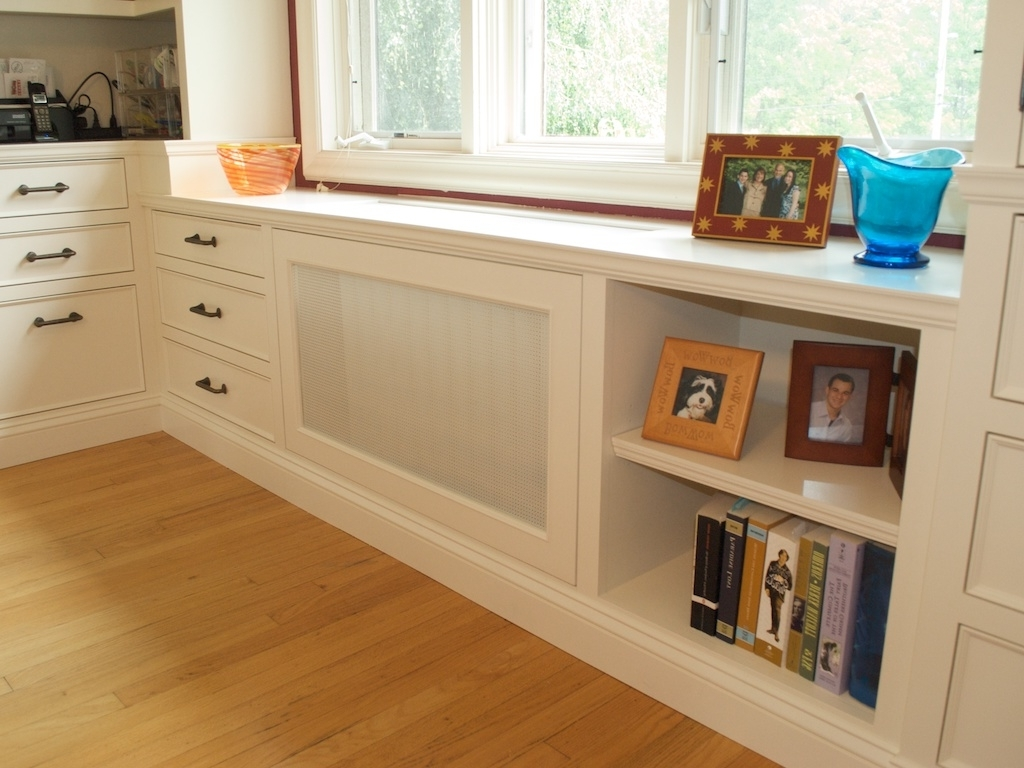 Most Recently Released Shelving: Radiator Cover Shelves Photo. Shelving Ideas (View 4 of 15)