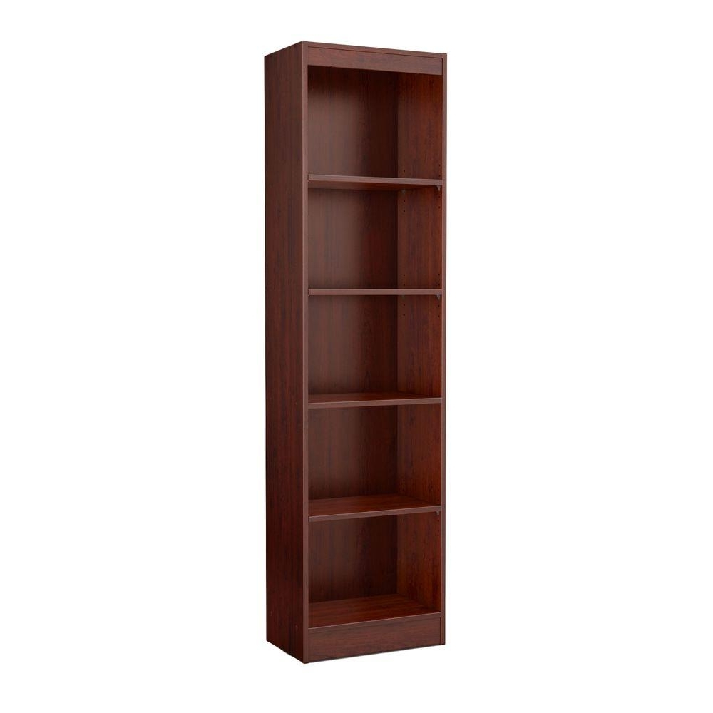 Most Recently Released South Shore 5 Shelf Bookcases In South Shore Axess 5 Shelf Bookcase In Royal Cherry 7246758 – The (View 6 of 15)