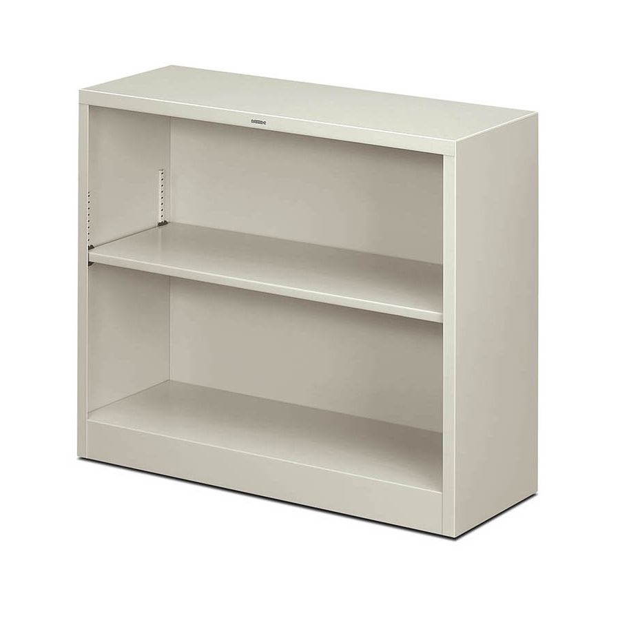 Most Recently Released Two Shelf Bookcases Intended For Hon Brigade Steel 2 Shelf Bookcase (View 3 of 15)