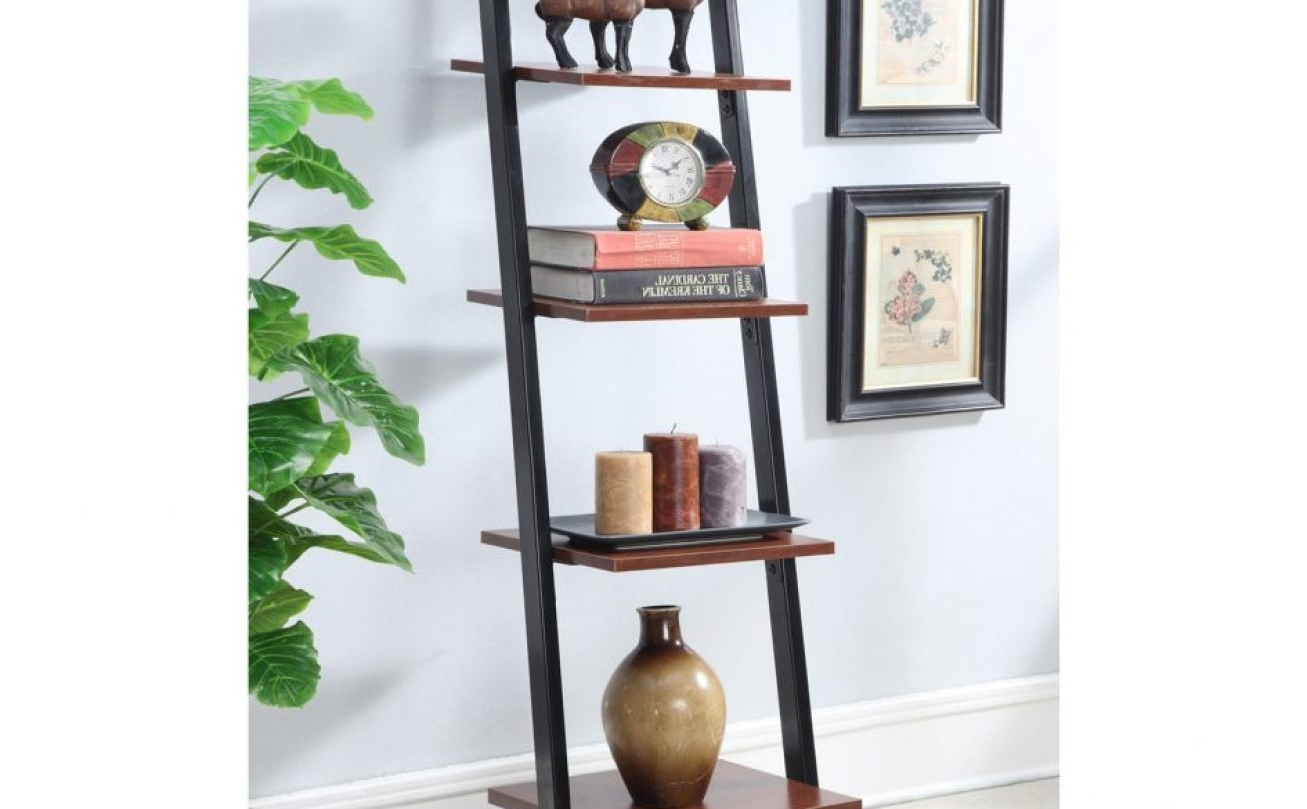 Most Recently Released Valuable Leaning Shelf Ikea Amazing Ladder Bookshelf Bookcase With With Ladder Ikea Bookcases (View 9 of 15)