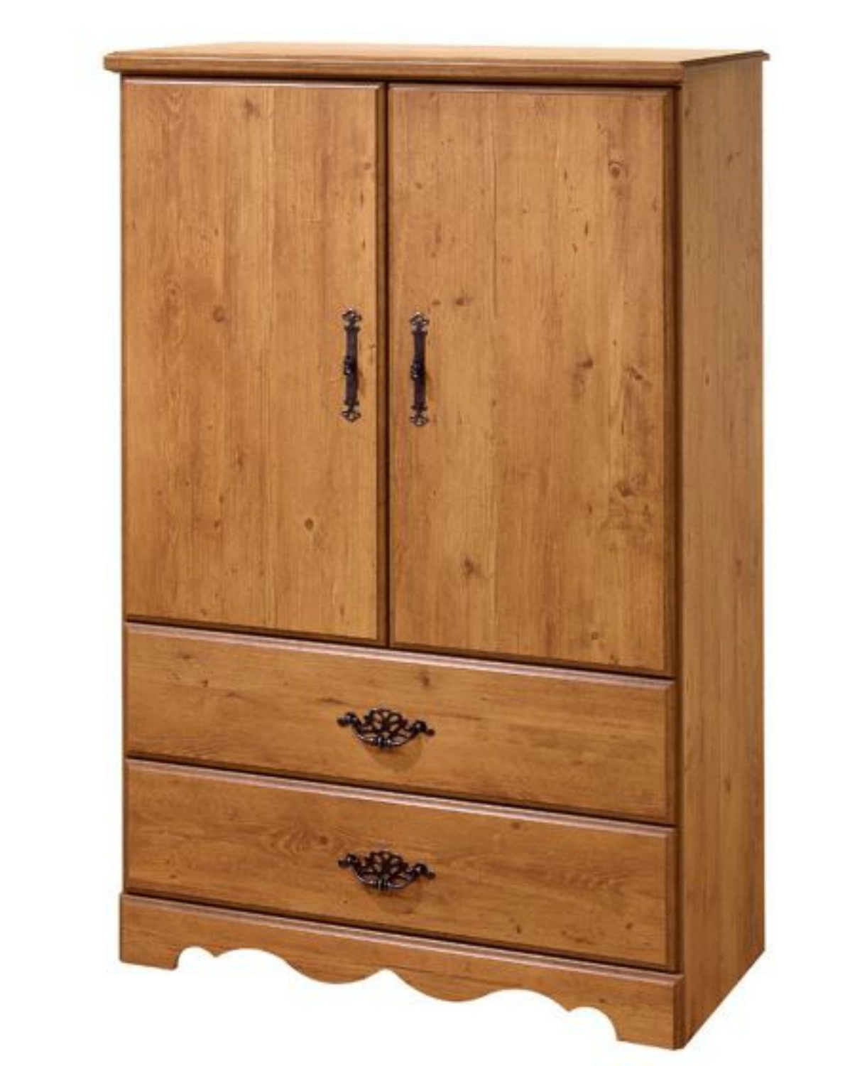 Most Up To Date 2 Door Wardrobes With Drawers And Shelves With Amazon: South Shore Wardrobe Closet Armoire – Perfect Bedroom (View 13 of 15)