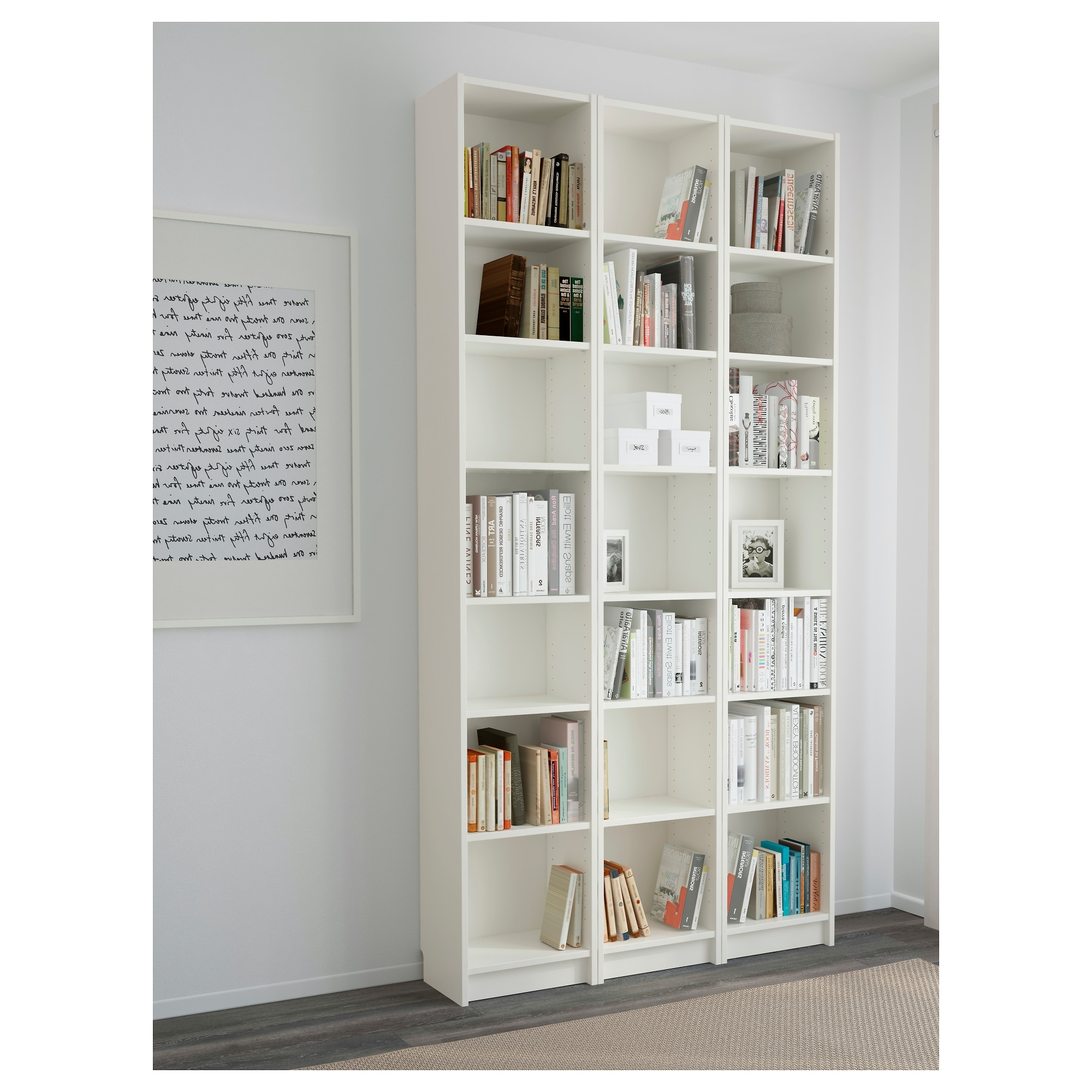 Most Up To Date Billy Bookcase – White – Ikea Inside White Billy Bookcases (View 8 of 15)