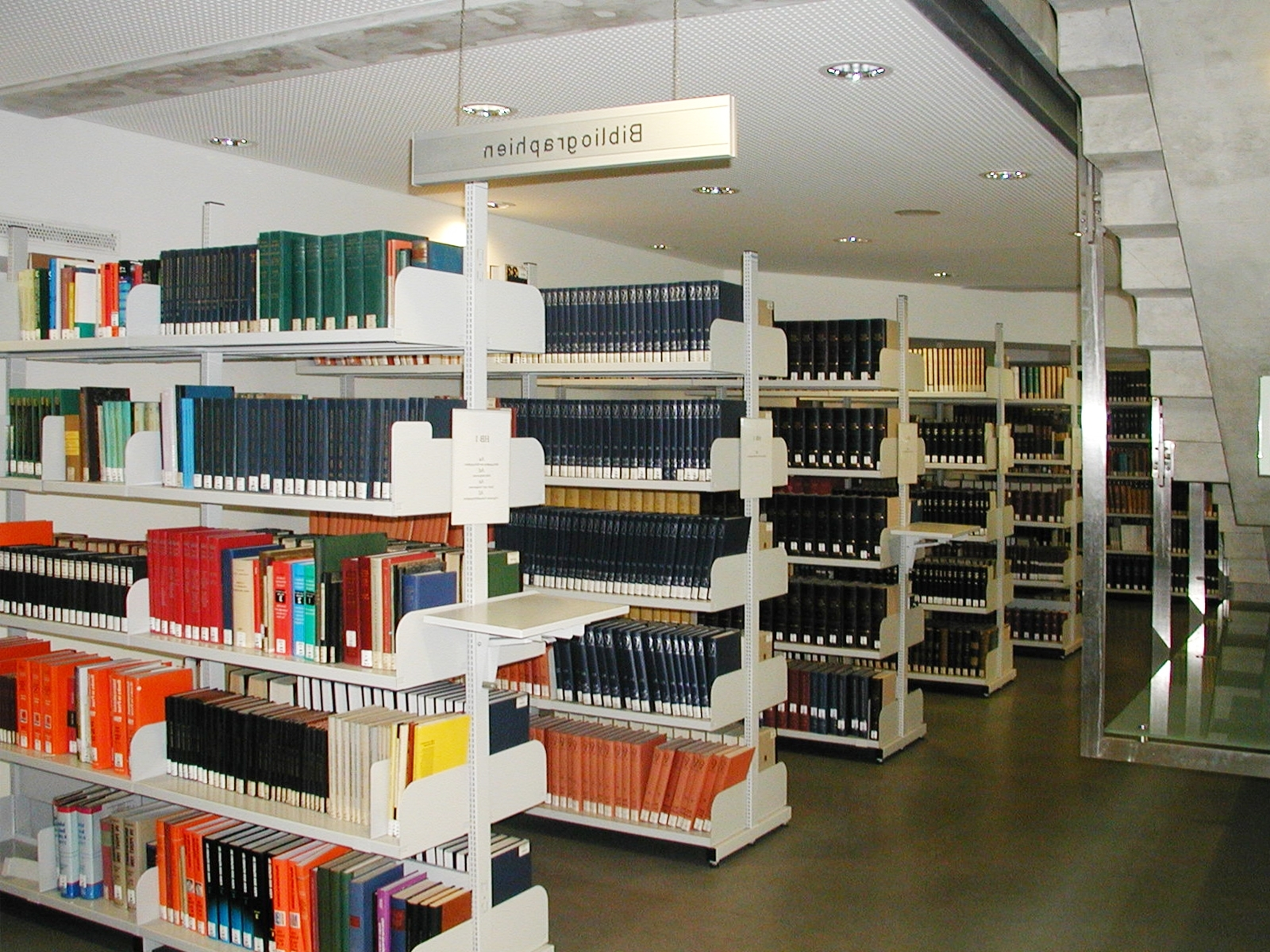 Most Up To Date File:library Shelves Bibliographies Graz – Wikimedia Commons Regarding Library Shelfs (View 11 of 15)