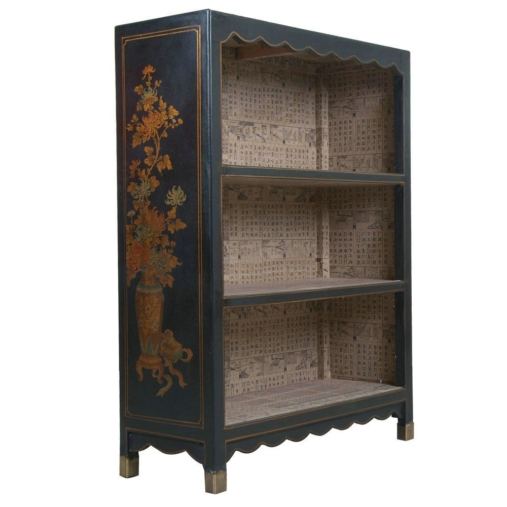 Featured Photo of Hand Painted Bookcases