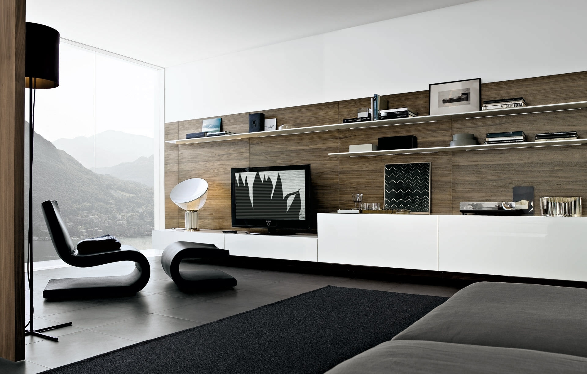 Most Up To Date Modern Wall Units For Contemporary Tv Wall Unit Modular Sintesicarlo Along With (View 5 of 15)