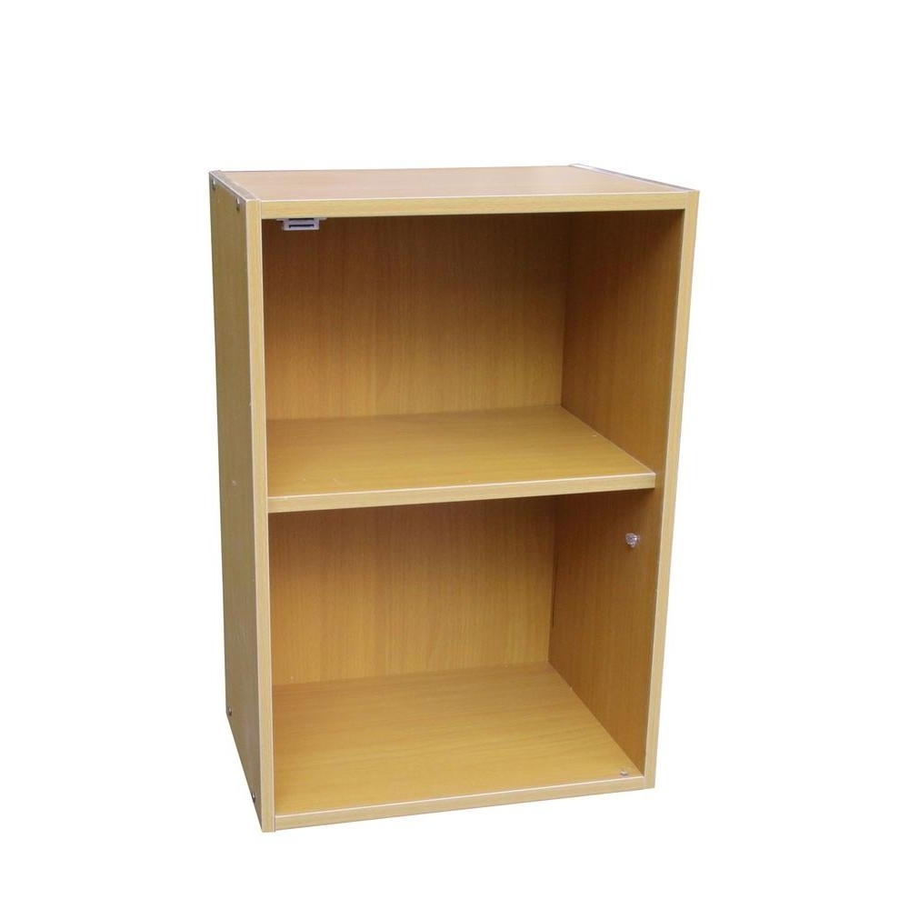 Most Up To Date Ore International Beige Adjustable Open Bookcase Jw 195 – The Home In Two Shelf Bookcases (View 10 of 15)