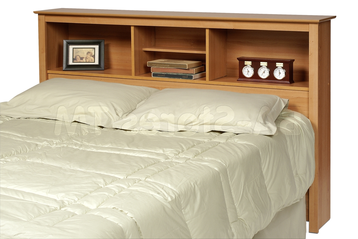 Most Up To Date Queen Bookcases Headboard Inside Prepac Sonoma Double/queen Bookcase Headboard (View 10 of 15)