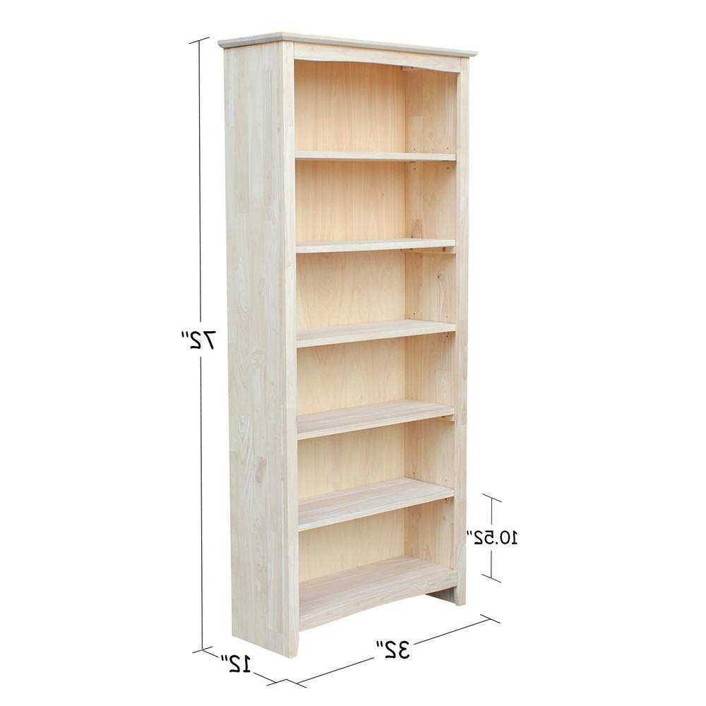 Most Up To Date Real Wood Bookcases Throughout Bookcase : Target Carson Horizontal Bookcase Plus Real Wood (View 14 of 15)