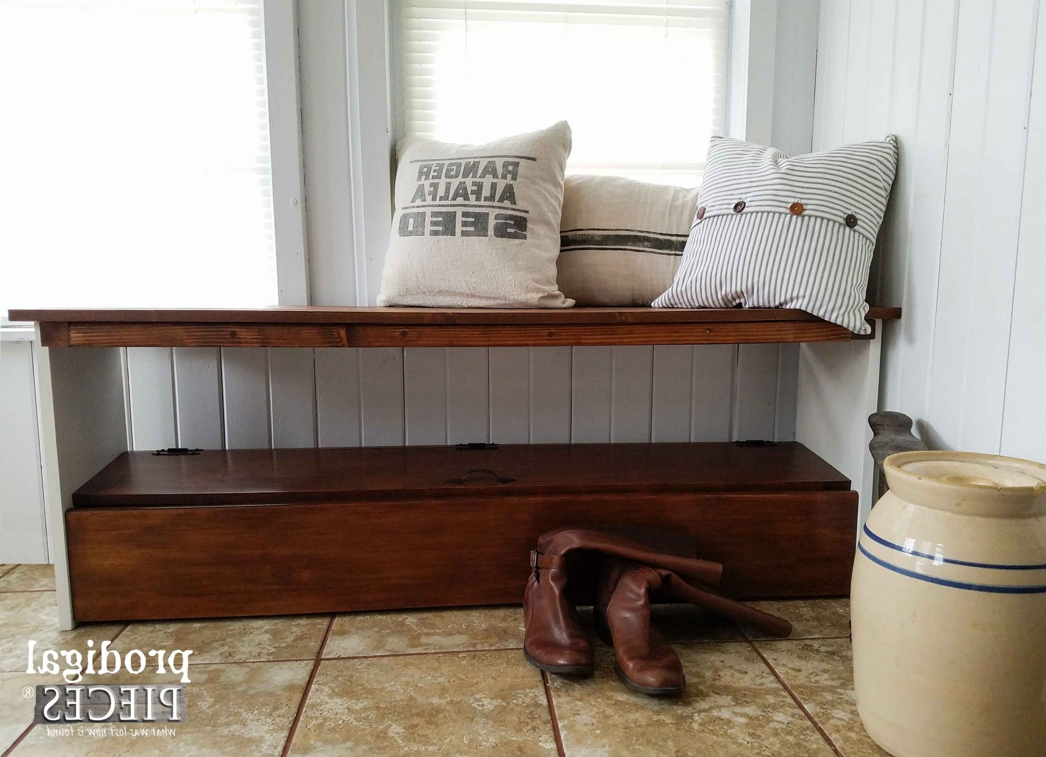 Most Up To Date Repurposed Bookcase Headboard Bench – Prodigal Pieces Throughout Repurpose Bookcases (View 13 of 15)