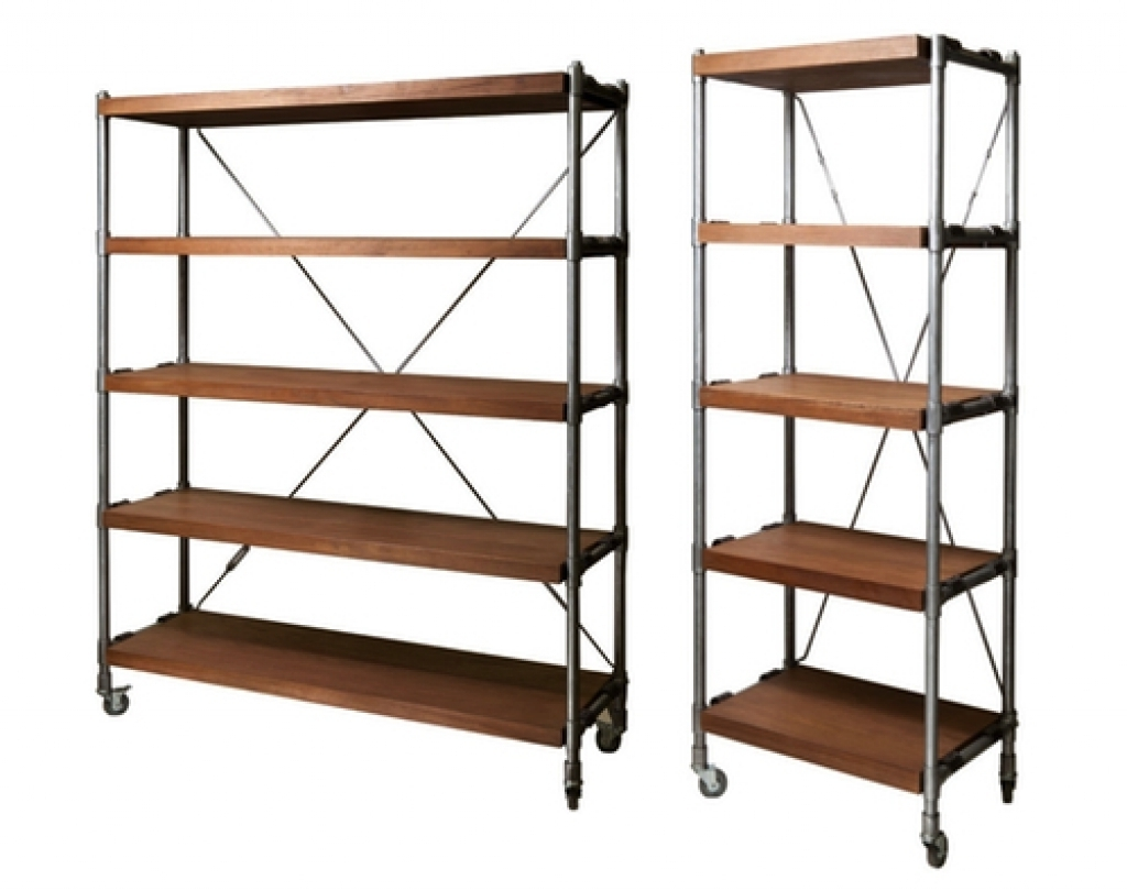 Most Up To Date Rolling Bookcases With Library Shelving (View 13 of 15)