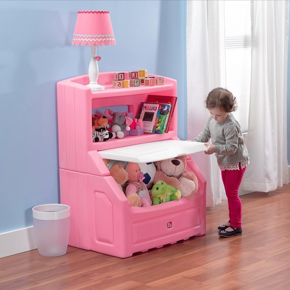 Most Up To Date Step2 Lift And Hide Pink Kid's Storage Bookcase 857600 – The Home Pertaining To Pink Bookcases (View 3 of 15)