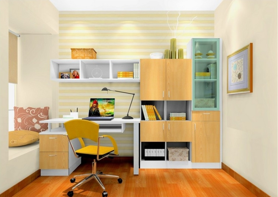 Most Up To Date Study Cupboard Designs With Others : Awesome Study Room Design Ideas For Your Inspirations (View 9 of 15)