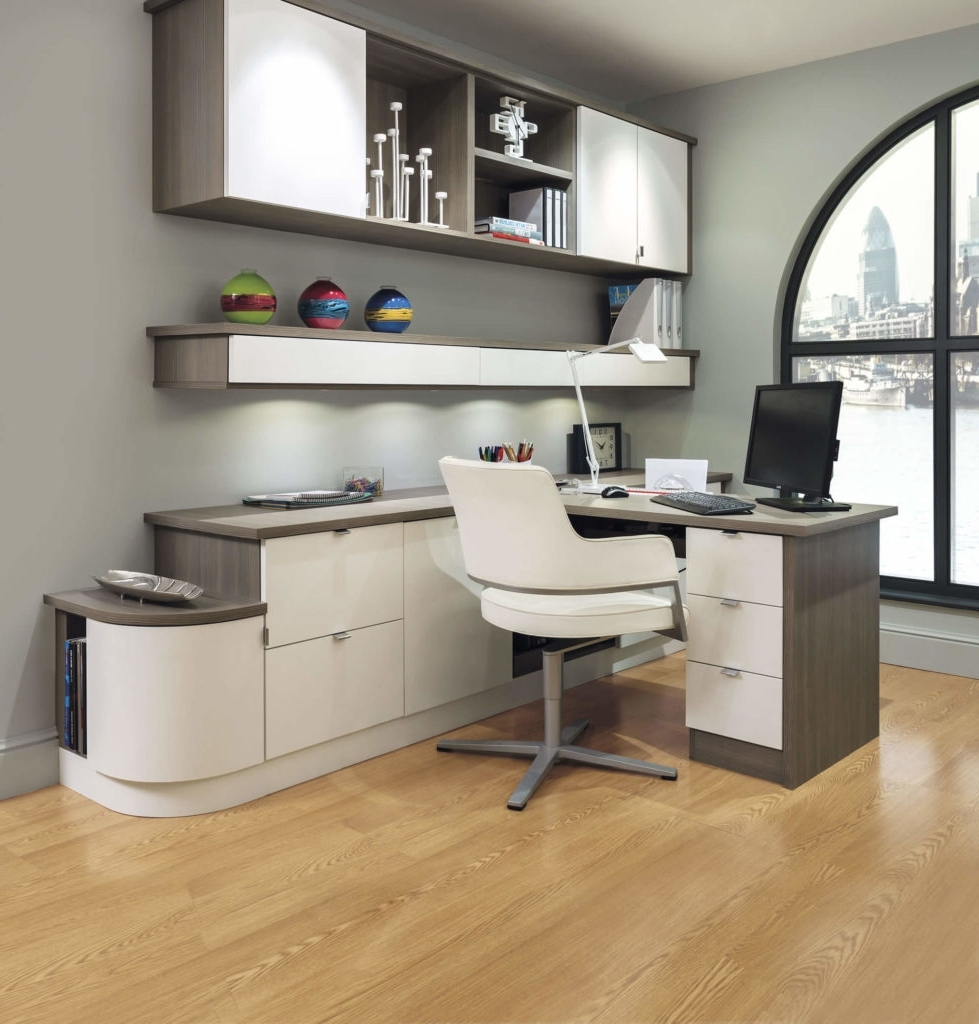 Most Up To Date Study Furniture – Home Office Furniture – Neville Johnson Throughout Fitted Office Furniture (View 6 of 15)
