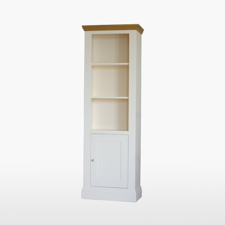 Most Up To Date Tall Bookcases With Doors For Uncategorized : Narrow Bookcase With Doors With Lovely Tall Narrow (View 5 of 15)